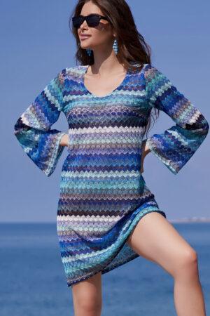 Платье-туника 8240 Туника пляжная Миссони Mia Amore