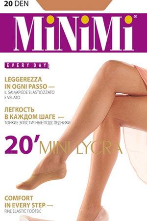 Женские носки MINI 20 (2 п.) подследники Minimi