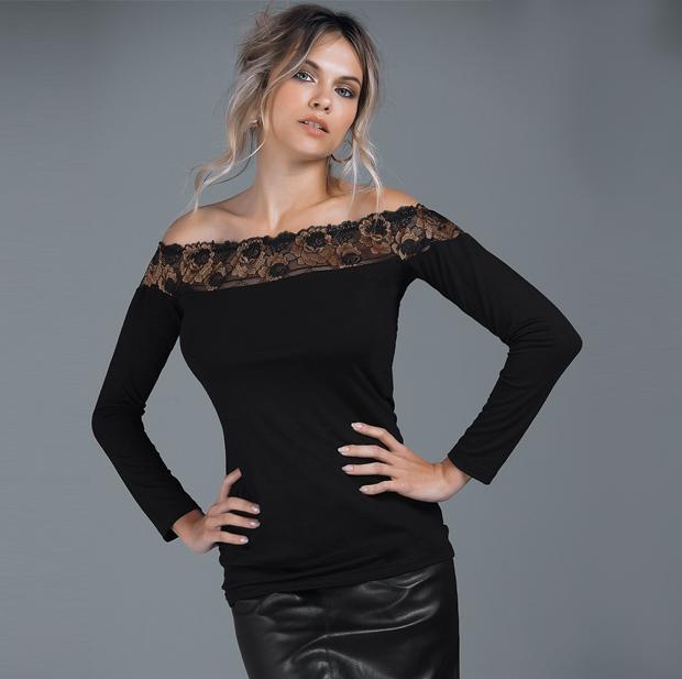 Все женские блузки, в том числе блузки с открытыми плечами из хлопка в интернет магазине RedMega.ru