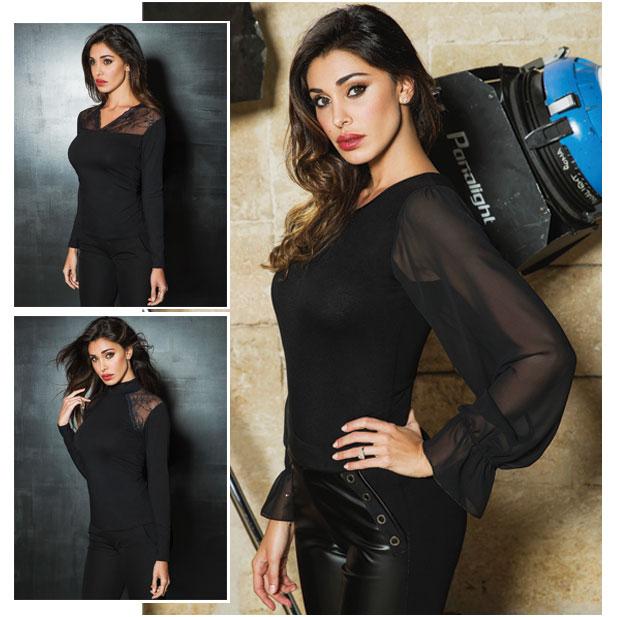 Все женские блузки, в том числе трикотажные в интернет-магазине RedMega.ru