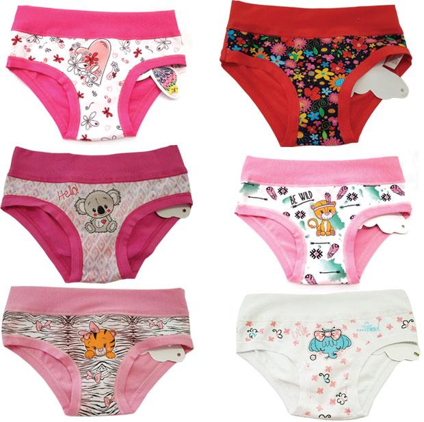 Купить детские трусы для девочек в интернет-магазине RedMega.ru